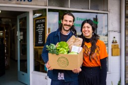 Healthy Fresh Food Boxes - Andrew & Minna