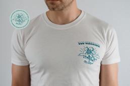 Eco Warrior Tee - EWCIF - coffee for the planet