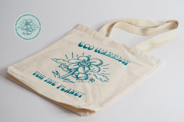 Eco Warrior Tote - EWCIF - coffee for the planet