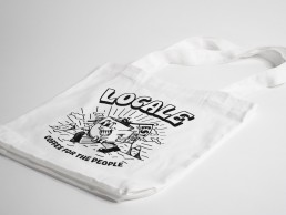 coffee for the people tote - white