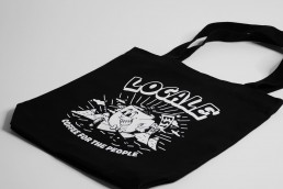 coffee for the people tote - black